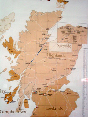Whiskyregionen