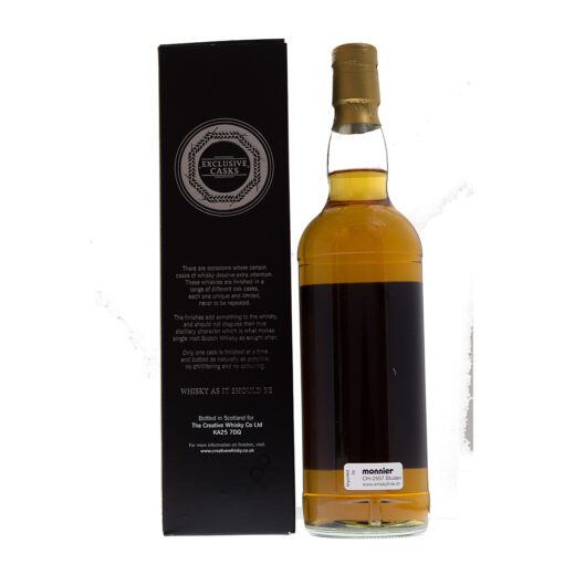 Bladnoch 1992 17Y Gaya Barolo Finish Metall-Label David Stirk