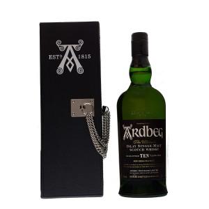 Ardbeg 10Y Black Box with Chain Original