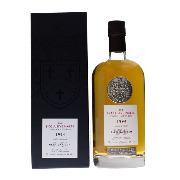 Glen Garioch 1994/18Y dark Sherry Exclusive Malts David Stirk