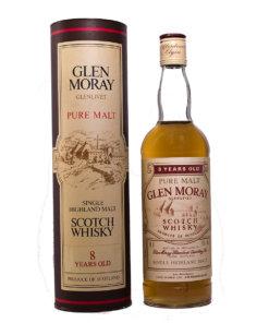 Glen Moray 8Y Pure Malt Beige Label Original