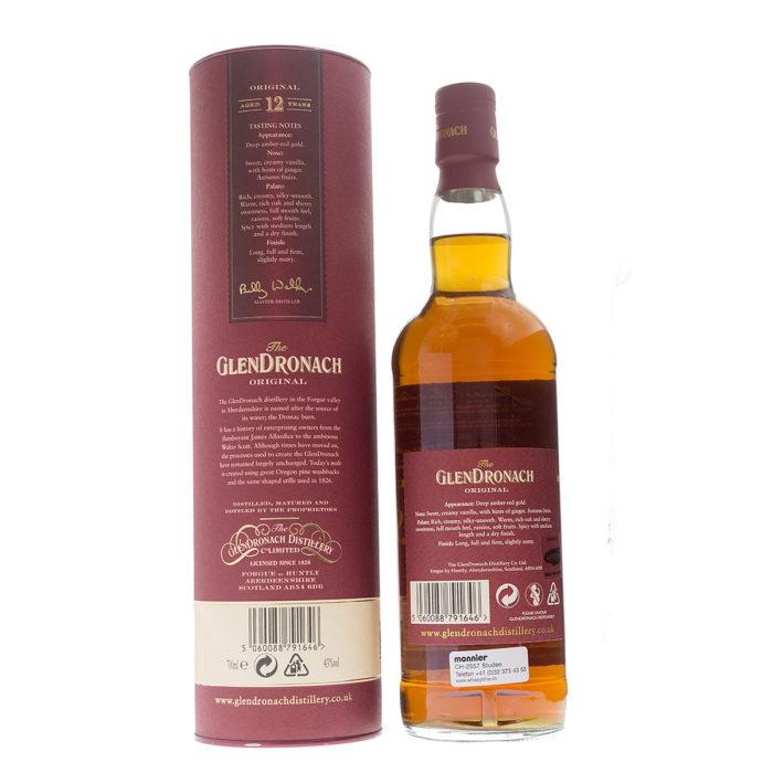 Glendronach 12Y Sherry Original