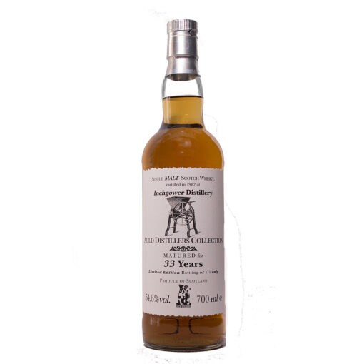 Inchgower 1982/33Y Auld Distillers Jack Wiebers Whisky World