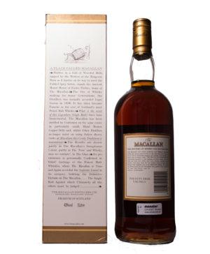 Macallan 12Y Sherry older Bottle Original