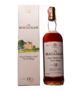 Macallan 12Y Italian Release old Original