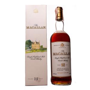 Macallan 12Y Italian Release old Original