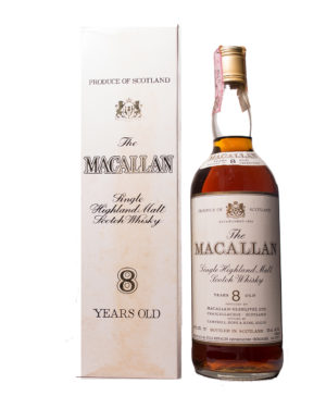 Macallan 8Y Metal Cap Original