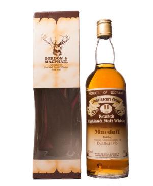 Macduff 1975/11Y Brown Label Connoisseurs Choice Gordon &Macduff 1975/11Y Brown Label Connoisseurs Choice Gordon & Macphail Macphail