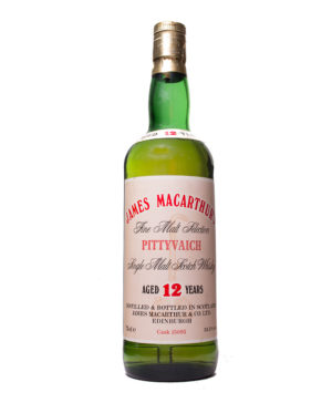 Pittyvaich 12Y very old James MacArthur
