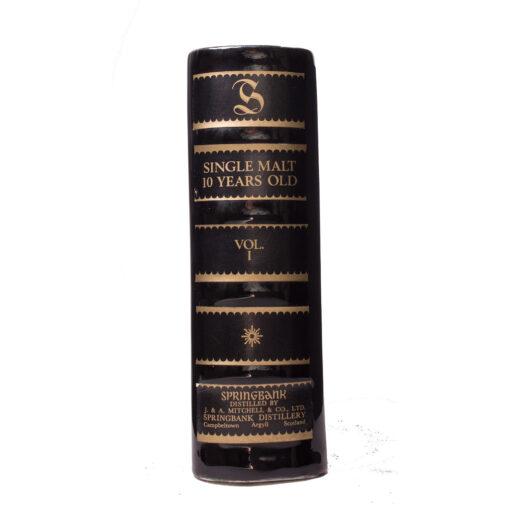 Springbank 10Y black Book Vol I Original