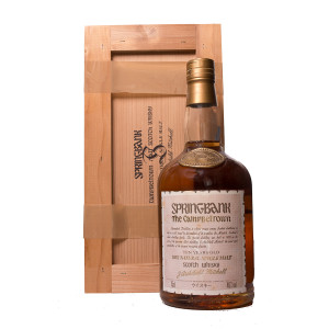 Springbank 10Y Lachs Label Japan Woodenbox Original