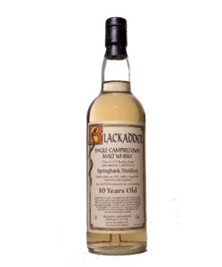 Springbank 1991 10Y Blackadder Cask 3