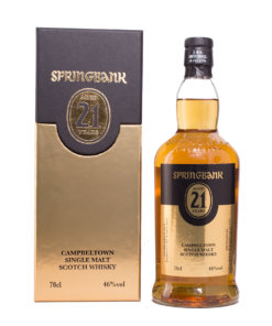Springbank 21Y new Label Original