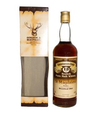 St. Magdaleine 1964/18Y brown Label Gordon & Macphail