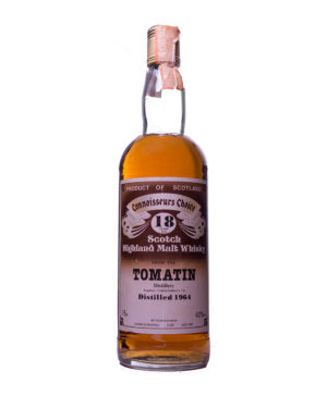 Tomatin 1964 18Y brown Label Gordon & Macphail