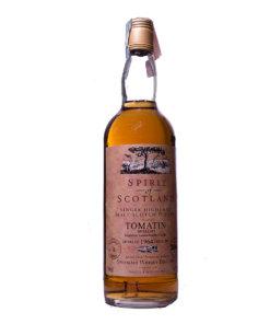 Tomatin 1964 30Y Spirit of Scotland 500J. Gordon & Macphail