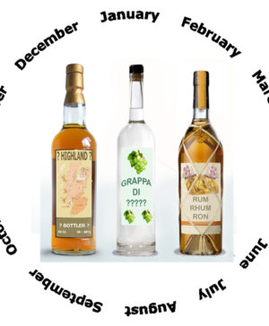 Whisky Grappa Rum Abo 1er