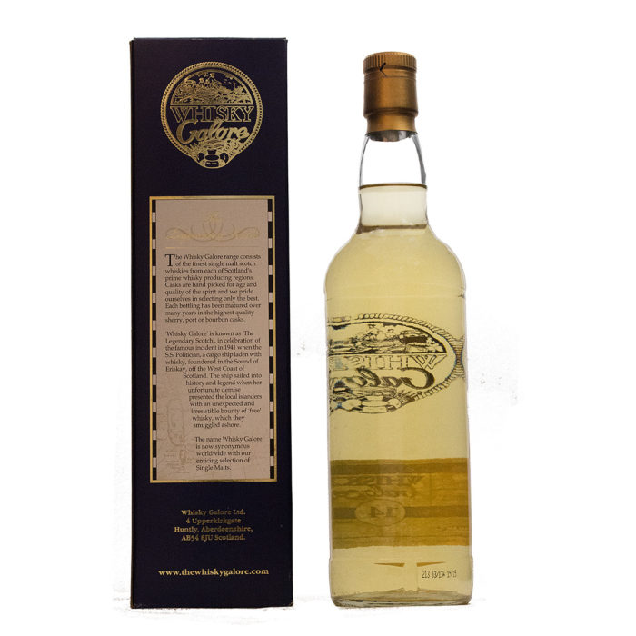 Bowmore 1989/14Y Whisky Galore