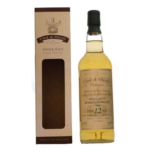 Bowmore 1990/12Y Cask & Thistle