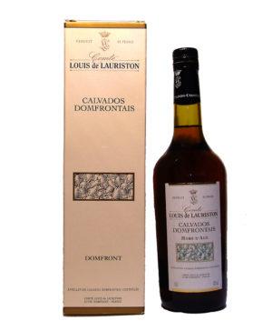 Calvados Hors d'Age Comte Louis de Lauriston
