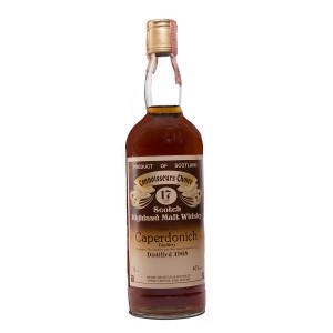Caperdonich 1968/17Y brown Label Gordon & Macphail