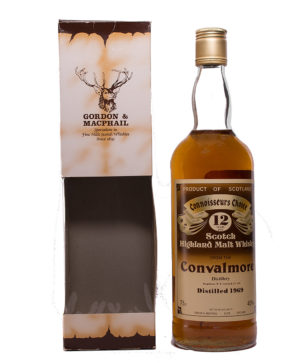 Convalmore 1969/12Y brown Label Connoisseurs Choice Gordon & Macphail