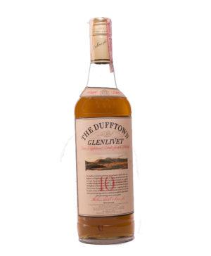 Dufftown 10Y Glenlivet old Original
