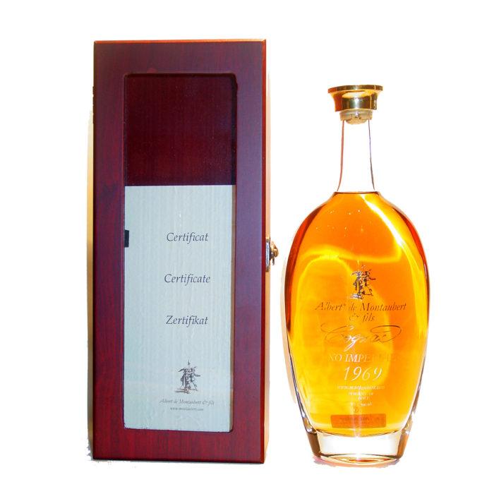 Albert de Montaubert XO impérial 1969 Cognac
