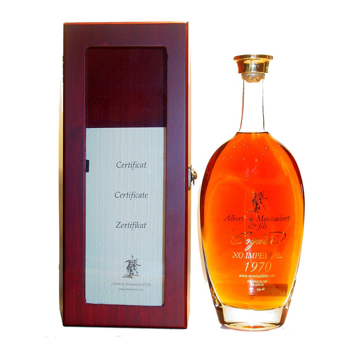 Albert de Montaubert XO impérial 1970 Cognac
