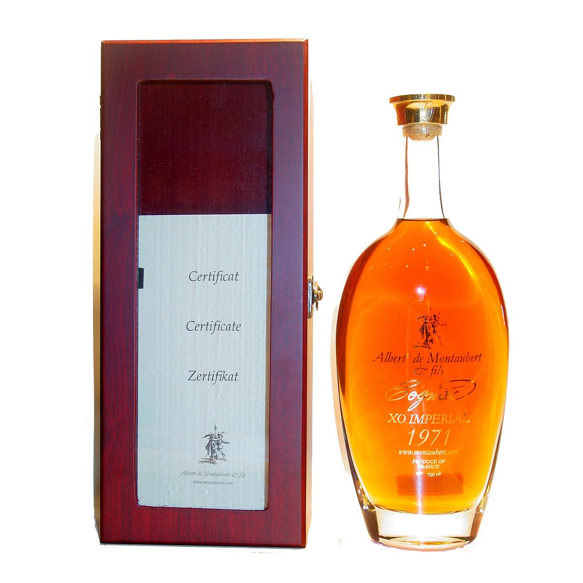 Albert de Montaubert XO impérial 1971 Cognac