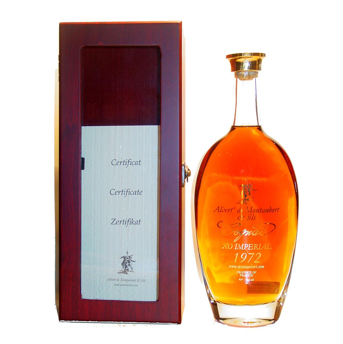 Albert de Montaubert XO impérial 1972 Cognac