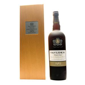 Taylor's Single Harvest Tawny 1965