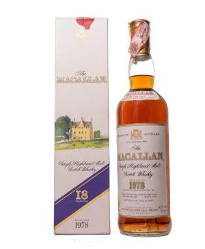 Macallan 1978 18Y Original