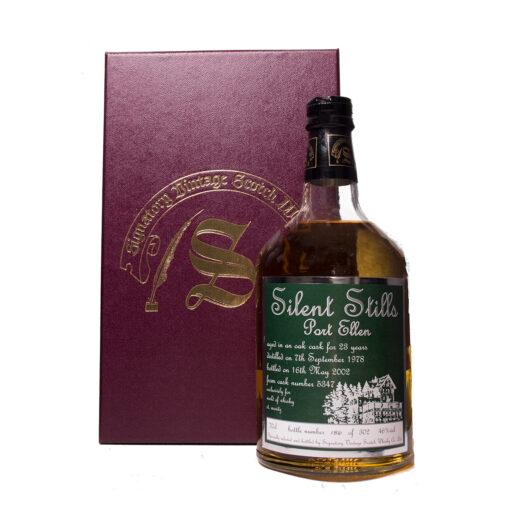 Port Ellen 1978/23Y Sherry Silent Stills Waldhaus Label Signatory