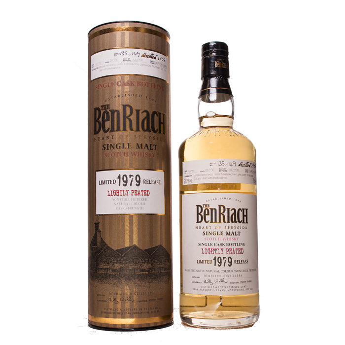Benriach 1979/28Y lightly peated Original