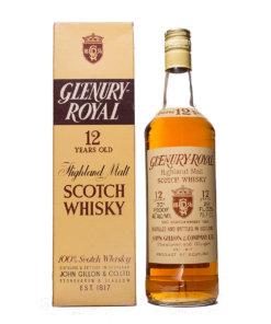 Glenury Royal 12Y 70 Proof Original