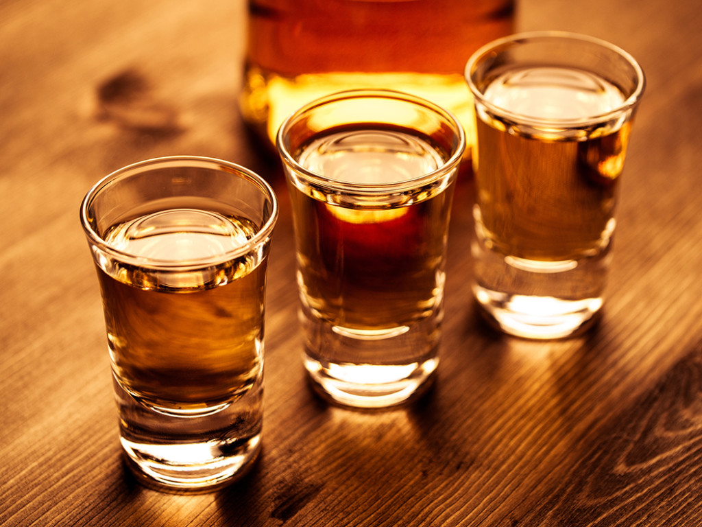 Whisky in Whiskygläsern