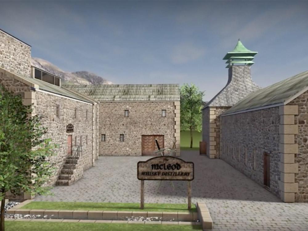 3D-Animation, Herstellung von Whisky