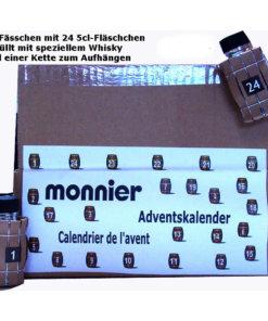 Whisky Adventskalender Monnier