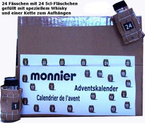 Wihisky Adventskalender Monnier