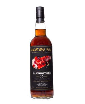 Glenrothes 1997 20Y very dark Fighting Fish Monnier