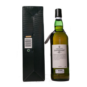 Laphroaig 15Y square package Original