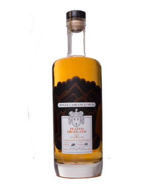 Peated Highland Malt 8Y Single Cask Exclusive David Stiirk