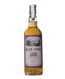Blair Athol 1988 29Y Whiskyschiff Zürich 2017 Jack Wiebers Whisky World