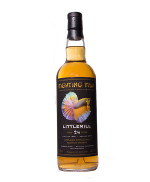 Littlemill 1990 24Y Fighting Fish Monnier