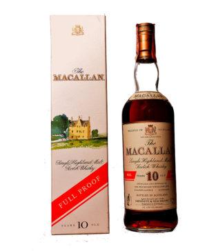 Macallan 10Y Full Proof for Giovinetti&Figli Italy