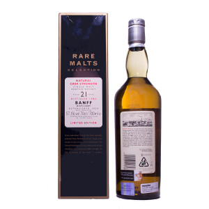 Banff 1982 21Y Rare Malts Original