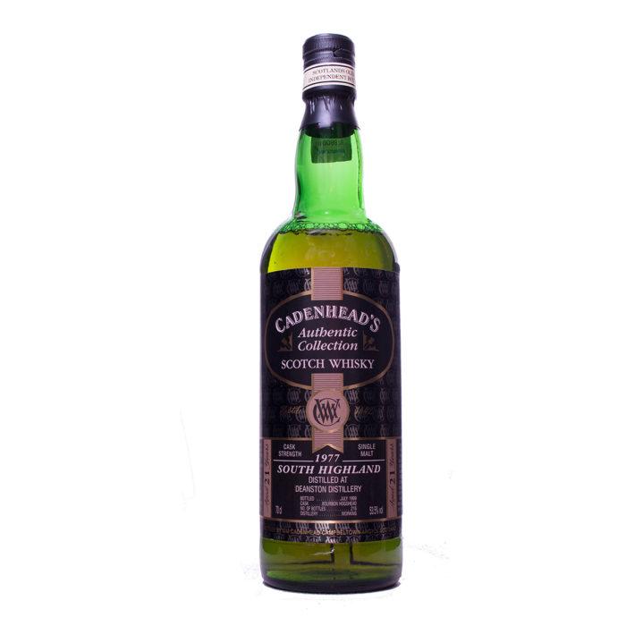 Deanston 1977 21Y Bourbon Cadenhaeads