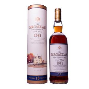Macallan 1981 18Y Original