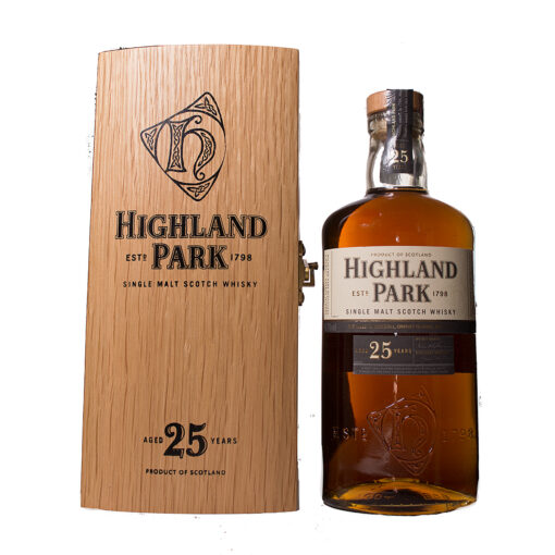 Highland Park 25Y in woodenbox Original